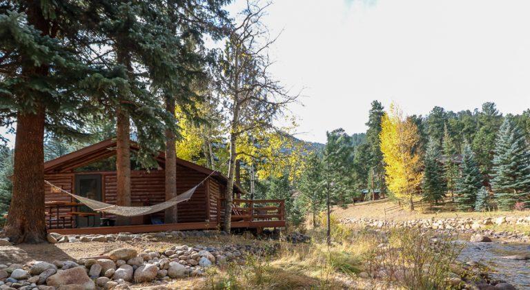 estes park cabins on the river