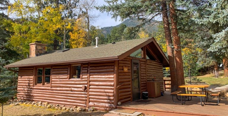 estes park river cabin