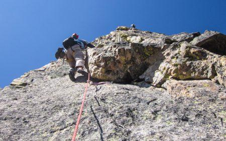 climbing the sharkstooth